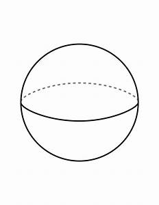 sphere coloring page wwwpixsharkcom images galleries With sphere net template
