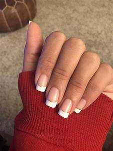 French Tip Gold Glitter Nails | www.pixshark.com - Images ...