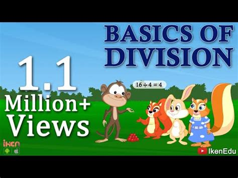 divison  easy math video  learn division basics