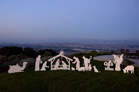 outdoor nativity scene  nativity sets yard decorations