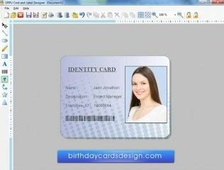 id card maker software design  business cards