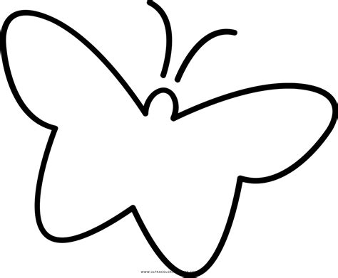 Kleurplaat Mariposa by Dibujo De Mariposa Para Colorear Ultra Coloring Pages