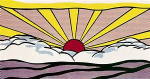 Art Intertwine: Roy Lichtenstein Inspired Kawaii Paintings
