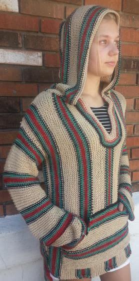 retro hippie hoodie knitting patterns  crochet