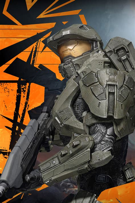 Halo chrome themes firefox themes wallpapers for true halo fans. Halo Phone Wallpapers - WallpaperSafari