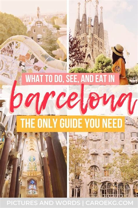 The Perfect 3 Days in Barcelona Itinerary | The Ultimate ...