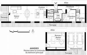 plan maison longere ooreka With nice dessin plan de maison 1 le grando dessin design architecture
