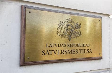 Satversmes tiesa ierosinājusi lietu saistībā ar ATR pēc ...