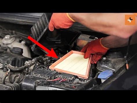 hoe de skoda roomster 1 luchtfilter motor vervangen - Auto L Vervangen