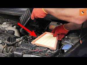 How To Change A Air Filter Skoda Roomster 1 Tutorial