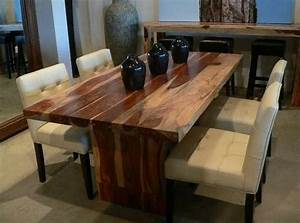 Dining Room best saving spaces solid wood dining room