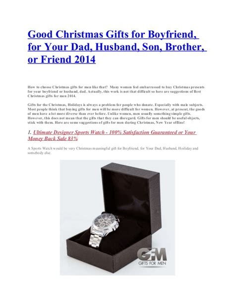 good christmas gifts for boyfriend for your dad husband