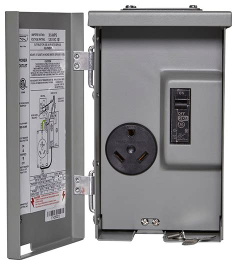 30a rv power oulet with breaker industrial switches and outlets by replacement circuit