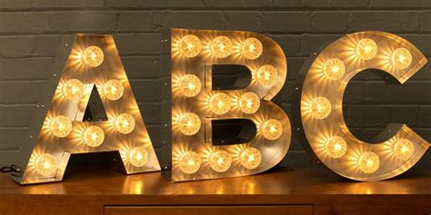 light up letter light up letters single letters goodwin goodwin
