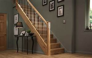 Elements with Glass Traditional staircase design with a