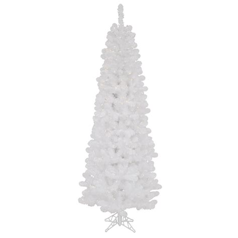 white artificial christmas trees
