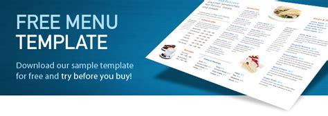 restaurant menu templates  menu designs