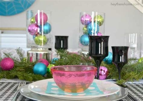 Christmas Table With A Twist