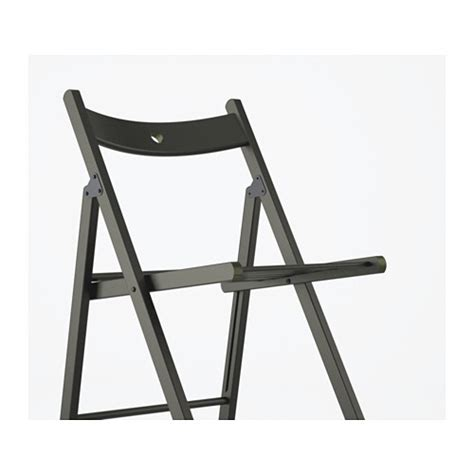 terje folding chair black ikea
