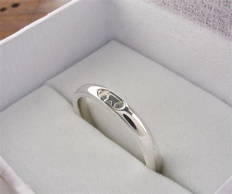 wedding ring mm  mm gretna green narrow womens white