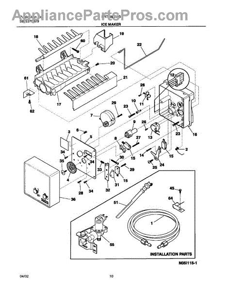 Gibson Freezer Wire Diagram by Frigidaire 5304420651 Wiring Harness Maker