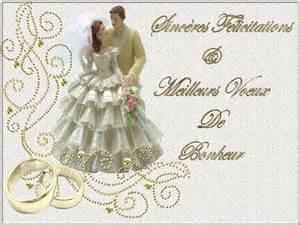 felicitation pour mariage felicitations