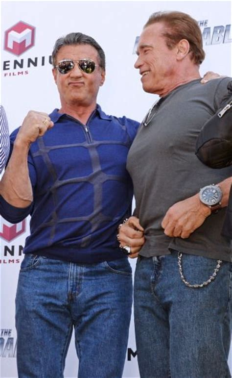 U Boat Watches Celebrities by Arnold Schwarzenegger And Sylvester Stallone U Boat
