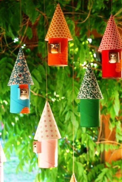 zu weihnachten mit klopapierrollen basteln