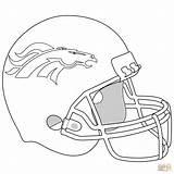 Coloring Broncos Denver Helmet Bronco Football Sheets Pages Nfl Printable Crayon Supercoloring Colors Super Seahawks Seattle Teams sketch template