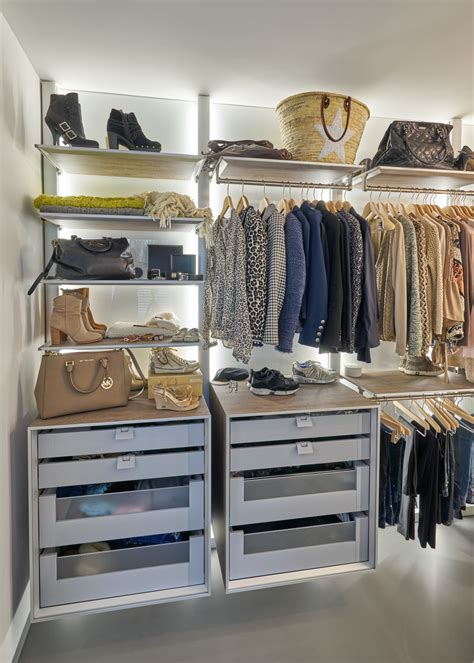 walk  closets  open wardrobe systems custom