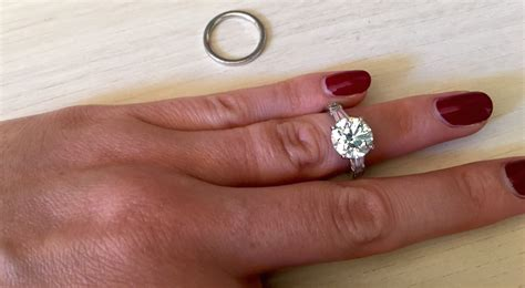 how to clean your engagement ring the go marquee wedding ring