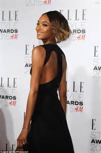 Jourdan Dunn flashes assets in two Elle Style Awards