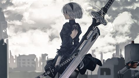 Nier Automata Full Hd Wallpaper And Background Image