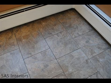 vinyl tiles vinyl tiles  home depot youtube