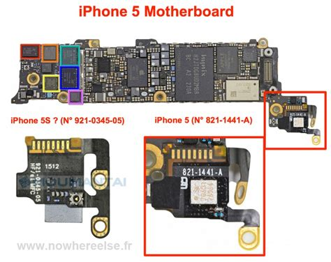 iphone 5s parts iphone 5s photos of leaked parts point to upgraded