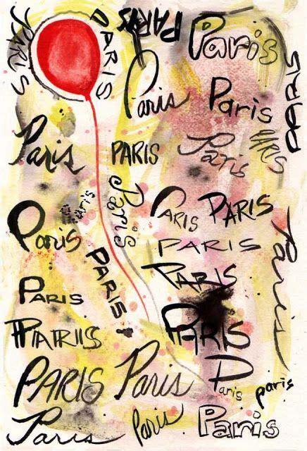 bella bella vita  images paris small paintings
