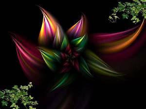 Abstract Flowers Wallpaper - WallpaperSafari