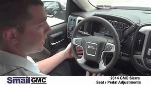 2014 Gmc Sierra Seat  Pedals  And Steering Wheel