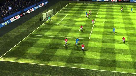 FIFA 14 Android - Chelsea VS Manchester Utd - YouTube