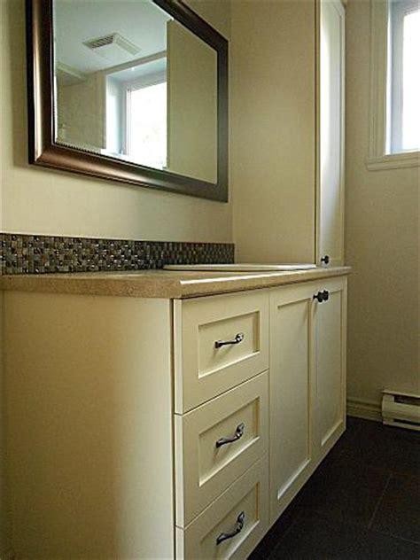 refaire les armoires de cuisine armoire salle de bain terrebonne