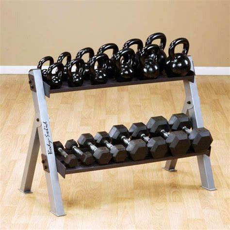 kettlebell rack dumbbell solid body weight weights racks