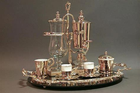 Top rated and best selling home coffee makers. The Royal Demitasse Coffee Service - the world's most elegant coffee maker.