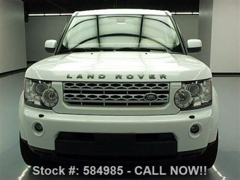 land rover lr4 interior sunroof find used 2011 land rover lr4 hse 4x4 dual sunroof nav 20