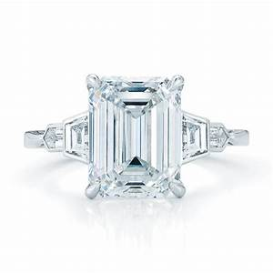 ring settings ring settings for emerald cut stones With emerald cut wedding ring