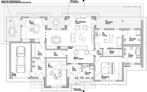 Großer Bungalow Grundriss by Innenarchitektur K 252 Hles Grundriss Bungalow Mit