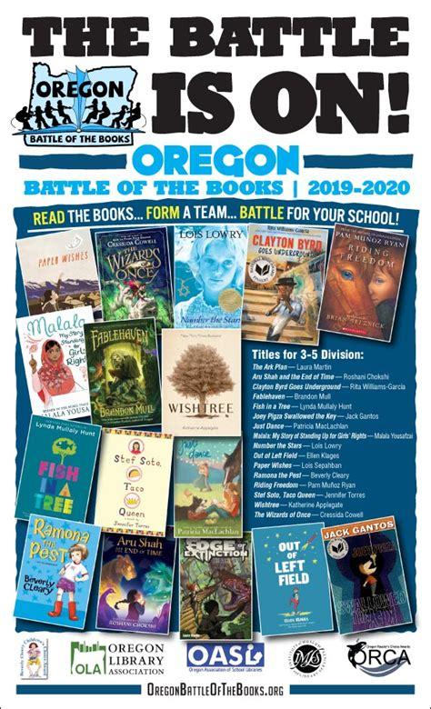 posters  bookmarks oregon battle   books