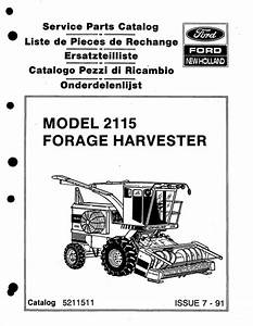 Ford New Holland 2115 Forage Harvester Service Parts