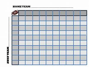 football pool squares template search results calendar With football square board template