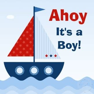 Boat Clipart Baby Shower #2541896