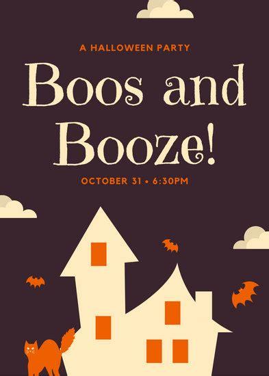 customize  halloween flyer templates  canva
